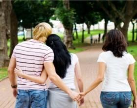 Faire l'amour avec un homme et une femme