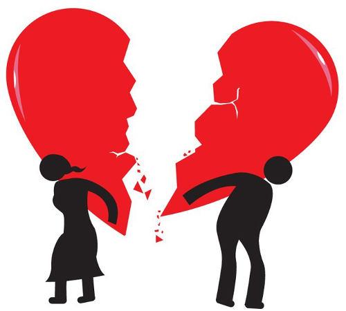 """Résultat de recherche d'images pour """"dessin rupture amoureuse"""""""